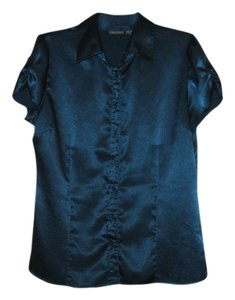 Apt. 9 Button Down Shirt Teal