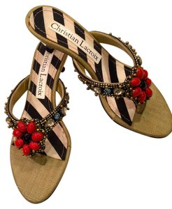 Christian Lacroix multi Sandals