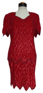 Laurence Kazar Vintage Sequin Dress