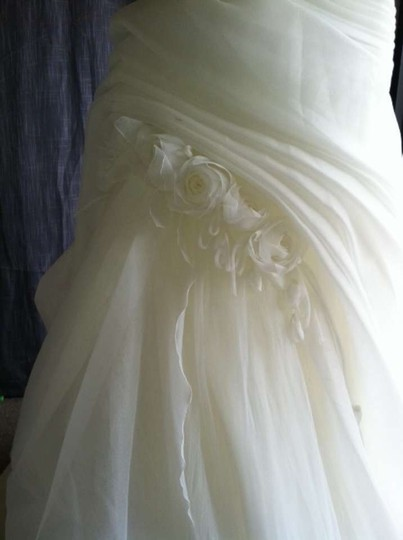 Pronovias Off White Fuente Modern Dress Size 14 (L)