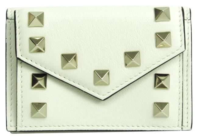 Item - Ivory Rock Studs Women's Leather (Tri-fold) Wallet