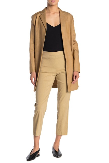 Item - Beige Clay Basic Pull On Linen Blend Pants Size 0 (XS, 25)