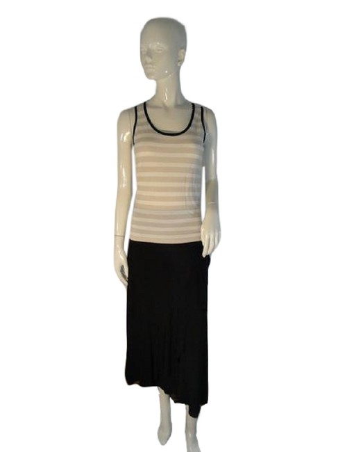 Item - Beige and White Sku 000090 Tank Top/Cami Size 6 (S)