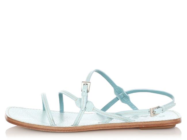 Item - Blue Lago Leather Strappy Sandals Size EU 37 (Approx. US 7) Regular (M, B)