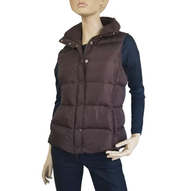 Item - Brown Puffer Vest Size 8 (M)