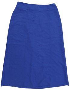 City Girl by Nancy Bolen Skirt Blue