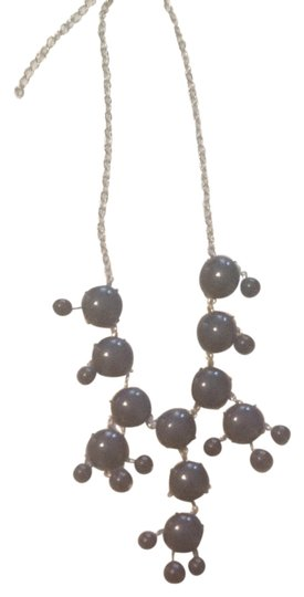 Charming Charlie Navy Baubble Necklace