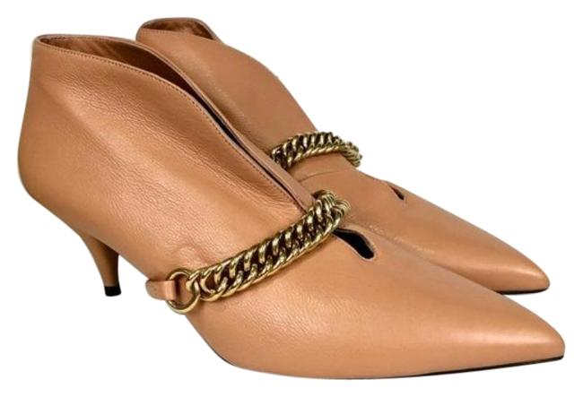 Item - Pink Tan Bronwen Chain Pointed Toe Leather Boots/Booties Size EU 39 (Approx. US 9) Regular (M, B)