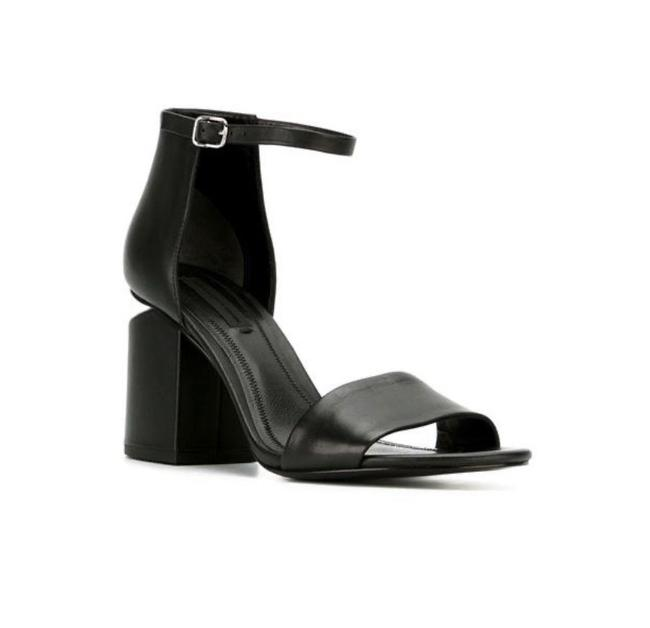 Item - Black Abby Calf Leather Sandals Size EU 35 (Approx. US 5) Regular (M, B)