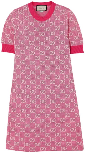 Item - Intarsia Wool and Cotton-blend Mini Short Casual Dress Size 4 (S)