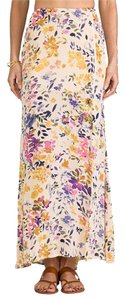 Tigerlily Floral Summer Maxi Skirt Blush/Floral