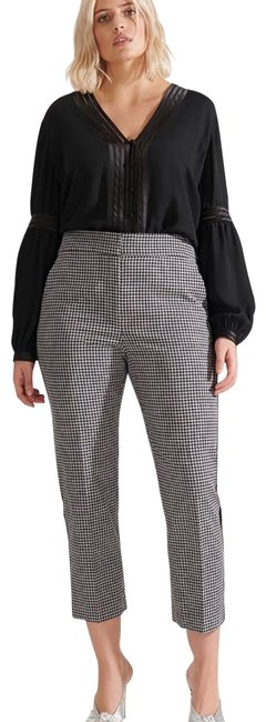 Item - Black and White Gemini Pants Size 18 (XL, Plus 0x)