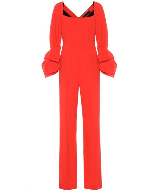 Item - Red Bethany Romper/Jumpsuit