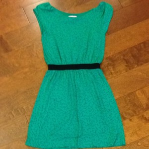 Lilly Pulitzer short dress Green Safety Pins on Tradesy