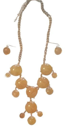Charming Charlie Yellow Gold Bauble Jewelry Set