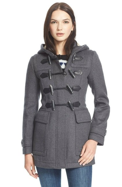Item - Grey Duffle Blackwell Wool Toggle Womens Heather Coat Size 8 (M)