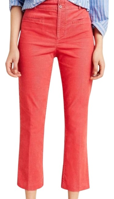 Item - Pink Corduroy Cropped Flare Pants Size 2 (XS, 26)