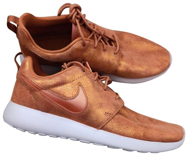 Item - Metallic Orange Bronze Roshe One Premium Sneakers Size US 8.5 Regular (M, B)