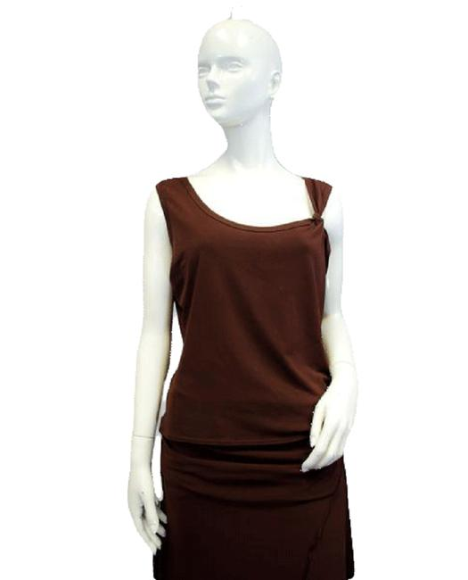 Item - Brown L Shot Of Expresso Set Resort Outfit Mid-length Casual Maxi Dress Size 14 (L)
