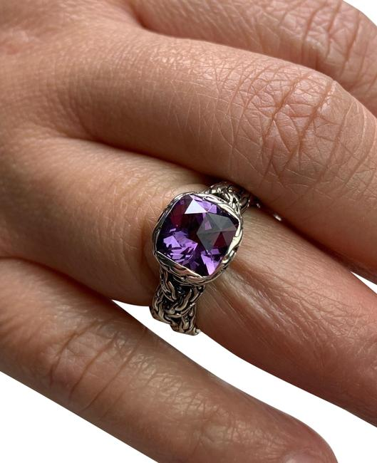 Item - Silver with Purple Stone Ring