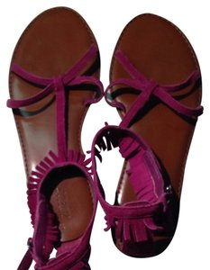 American Eagle Outfitters Magenta Sandals