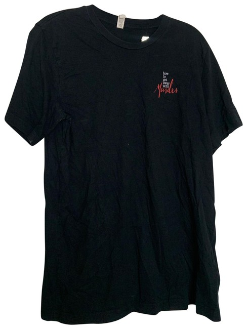 Item - Black Lg How To Get Away with Murder Blk Tee Shirt Size 12 (L)
