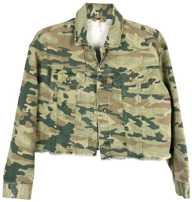 Item - Green Camo Jacket Size 4 (S)