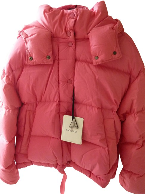 Item - Pink 'onia' Giubbotto Down-filled Puffer Jacket Coat Size 10 (M)