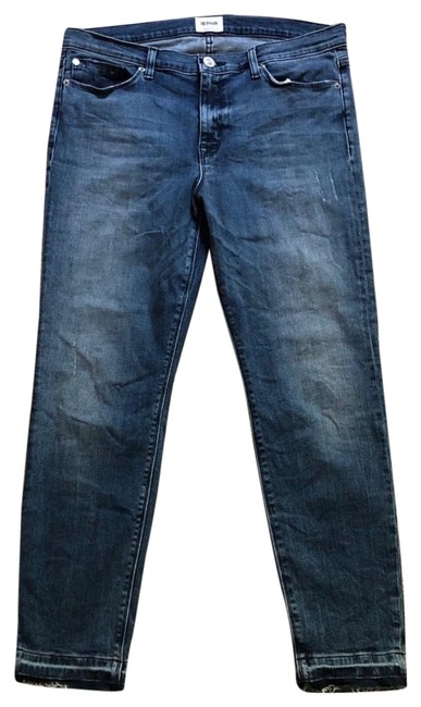 Item - Blue Distressed Nico Reverie Super 30 Skinny Jeans Size 8 (M, 29, 30)