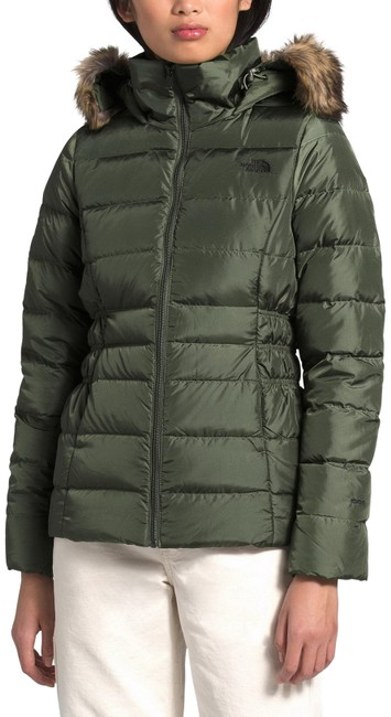 Item - Green Gotham Ii Hooded Water Resistant 550-fill Down Jack Coat Size 4 (S)