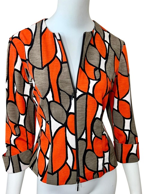 Item - Orange Raree Blazer Size 6 (S)