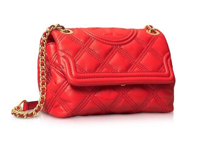 Item - Fleming Brilliant Small Soft Red Leather Cross Body Bag