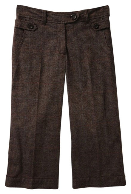Preload https://item5.tradesy.com/images/h-and-m-brown-tweed-cropped-trousers-size-4-s-27-2784514-0-0.jpg?width=400&height=650
