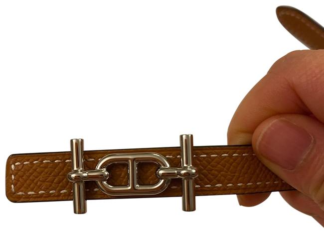 Item - Reversible Black/Gold with Silver Buckle Belt