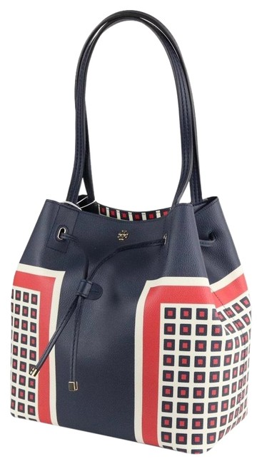 Item - Kerrington Milano Square Blue Faux Leather Tote