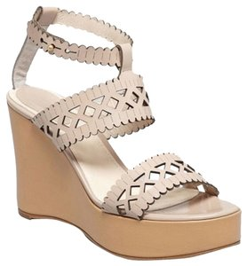 Chloé Nude Wedges