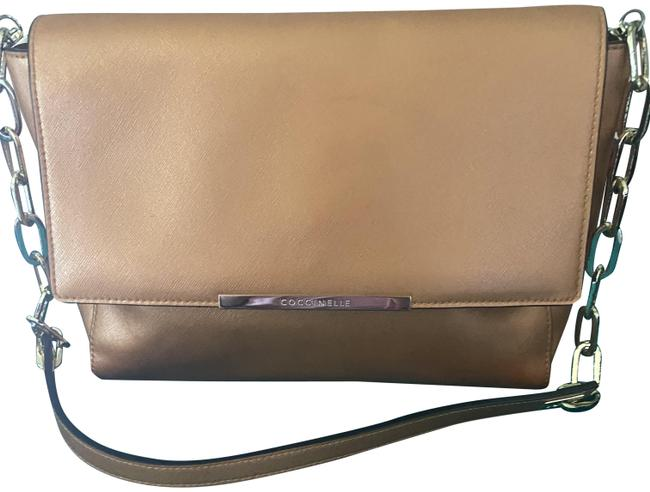 Item - Gold Yellow Leather Shoulder Bag