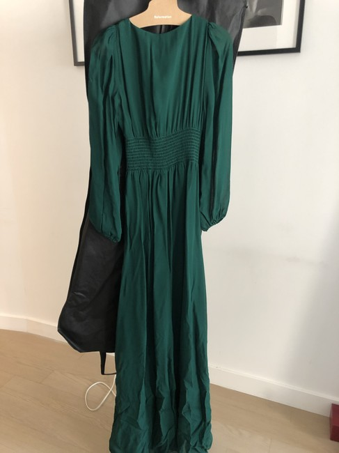 Item - Emerald Green Metiers Long Formal Dress Size 4 (S)