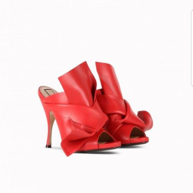 Item - Red Mules/Slides Size EU 40 (Approx. US 10) Regular (M, B)