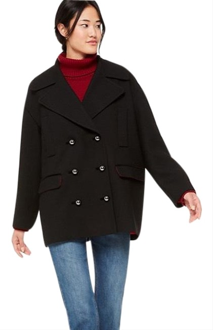 Item - Black Red New Broome Street Modern Coat Size 8 (M)