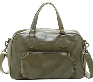 Liebeskind Olive Green Army Convertible Outside Pockets Satchel in Pistache