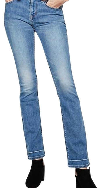 Item - Blue Mid Rise Barely Regular Boot Cut Jeans Size 18 (XL, Plus 0x)