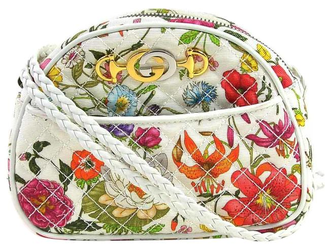 Item - Flora Ladies 534951 Multi-color / White Canvas Shoulder Bag