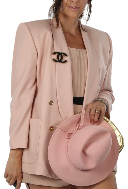 Item - Baby Pink Vintage For Ellen Tracy Jacket Blazer Size 10 (M)