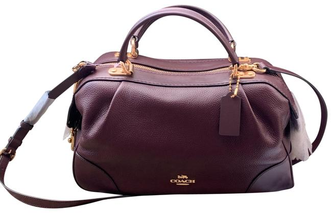Item - Soft Merlot Burgundy Leather Satchel
