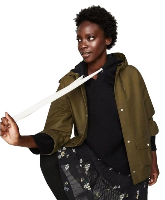 Item - Green Moss Parka with Elastic Sleeves Jacket Size 12 (L)