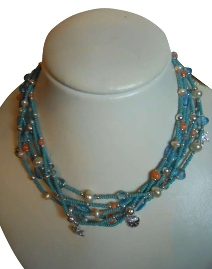 Preload https://img-static.tradesy.com/item/278543/tommy-hilfiger-turquoise-necklace-0-0-540-540.jpg