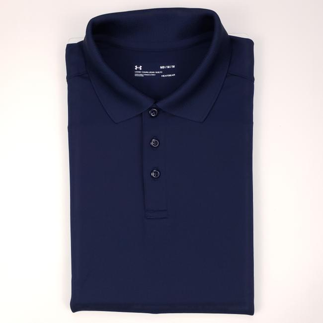 Item - Blue Navy Medium Polo 1317215 Ua Performance Mens Size M Shirt