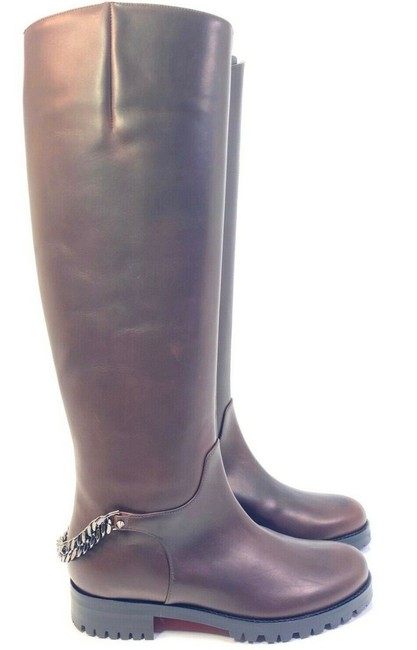 Item - Brown Croche Cate 20 Calf Leather Riding Boots/Booties Size EU 36 (Approx. US 6) Regular (M, B)