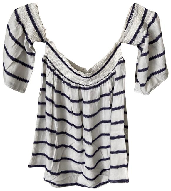 Item - Isabelle Blue & White Top
